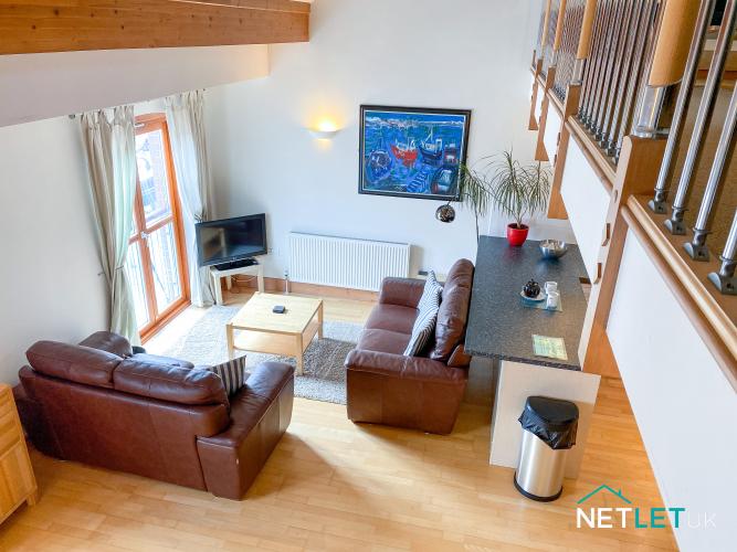 Milford Marina 22 Vanguard House NetLet UK Holiday Home apartment marina views Pembrokeshire staycation Wales-21