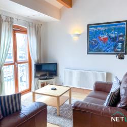 Milford Marina 22 Vanguard House NetLet UK Holiday Home apartment marina views Pembrokeshire staycation Wales-25